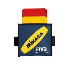 Kortelės tinklinio teisėjams Mikasa VK