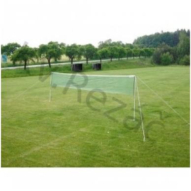 Badmintono rinkinys su profesionaliu tinklu