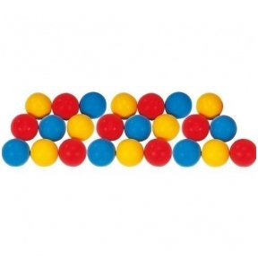 Lengvų kamuoliukų rinkinys Spordas (20 vnt.)