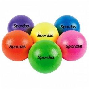 Neoninių spalvų kamuoliukų rinkinys (6 vnt.)