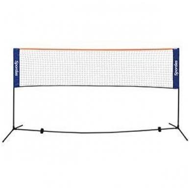 Nešiojamas badmintono ir mini teniso rinkinys