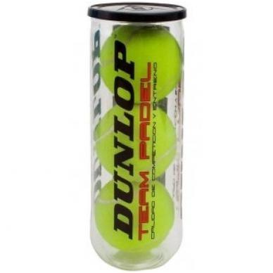 Padel teniso kamuoliukai DUNLOP MID RANGE Team Padel, 3 vnt.