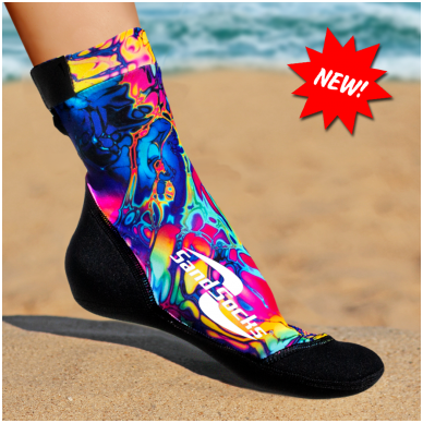 Paplūdimio kojinės 17
