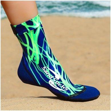 Paplūdimio kojinės 8