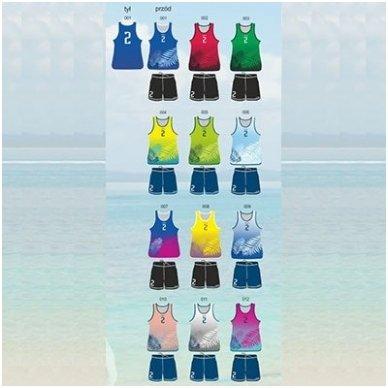 Paplūdimio tinklinio apranga vyrams COLO Castor 2