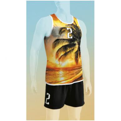 Paplūdimio tinklinio apranga vyrams NUT