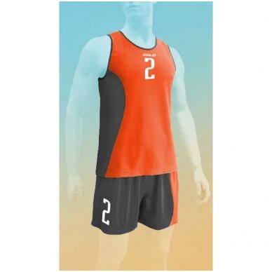 Paplūdimio tinklinio marškinėliai SAND