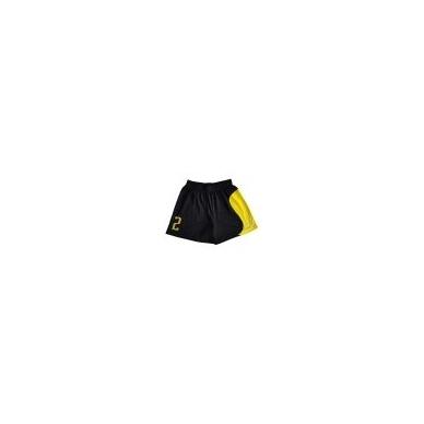 Paplūdimio tinklinio marškinėliai SAND BLACK YELLOW 5