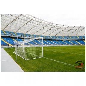 Profesionalūs futbolo vartai (7,32 x 2,44 m) 2 vnt.