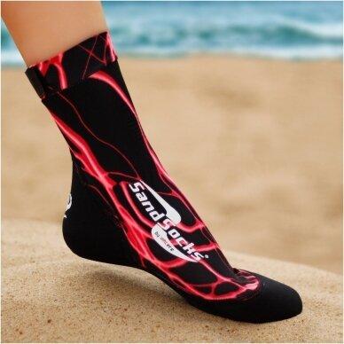 Paplūdimio kojinės 18