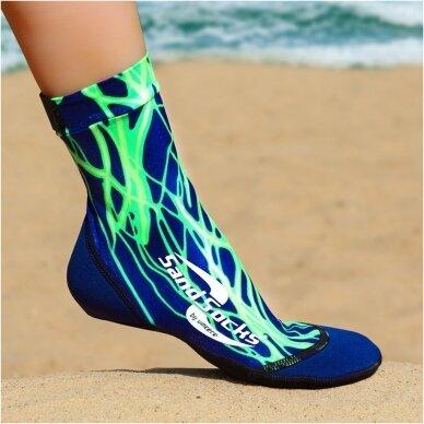 Paplūdimio kojinės 19