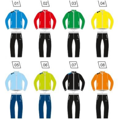 Sportinis kostiumas tinkliniui COLO TEAM PLST 2