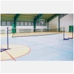 Badmintono stovai su atsvara