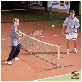 Vaikiškas nešiojamas lauko teniso rinkinys (3m x 0,7m)